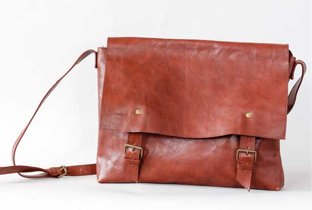 Collection brown leather